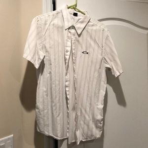 Oakley Shirts - Oakley Short Sleeve Button Up